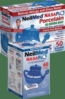Afbeelding NeilMed Neti-pot voor het spoelen van je neus