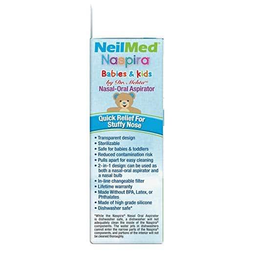 Afbeelding NeilMed Naspira snot verwijderen baby's en kinderen 1