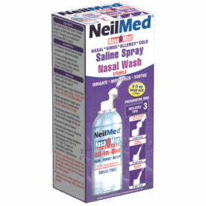 Afbeelding NeilMed neusspray all-in-one zoutoplossing Nasamist