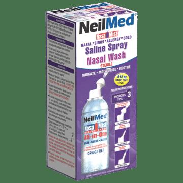 Afbeelding NeilMed neusspray all-in-one zoutoplossing Nasamist