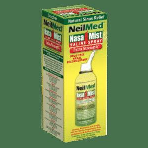 Afbeelding NeilMed neusspray zoutoplossing extra sterk