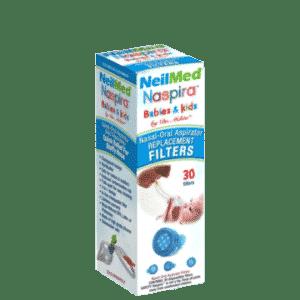 Afbeelding NeilMed Naspira filters snot verwijderen baby's en kinderen