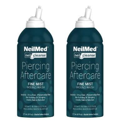 Afbeelding NeilMed Piercing Aftercare Fine Mist 177ml 2x