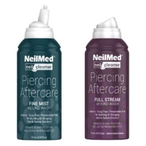 Afbeelding NeilMed Piercing Aftercare Fine Mist + Full Stream 75 ml